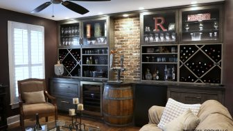 wine room by Dovetail Group