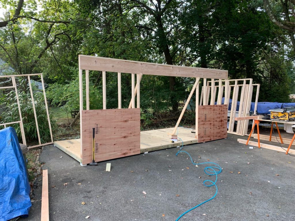 She Shed Construction